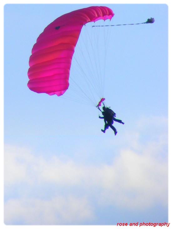 saut au parachute