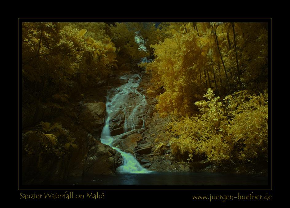 Sauzier - Wasserfall auf Mahé