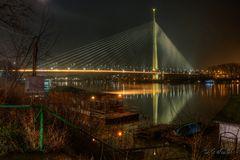 Sava Brücke in Belgrad