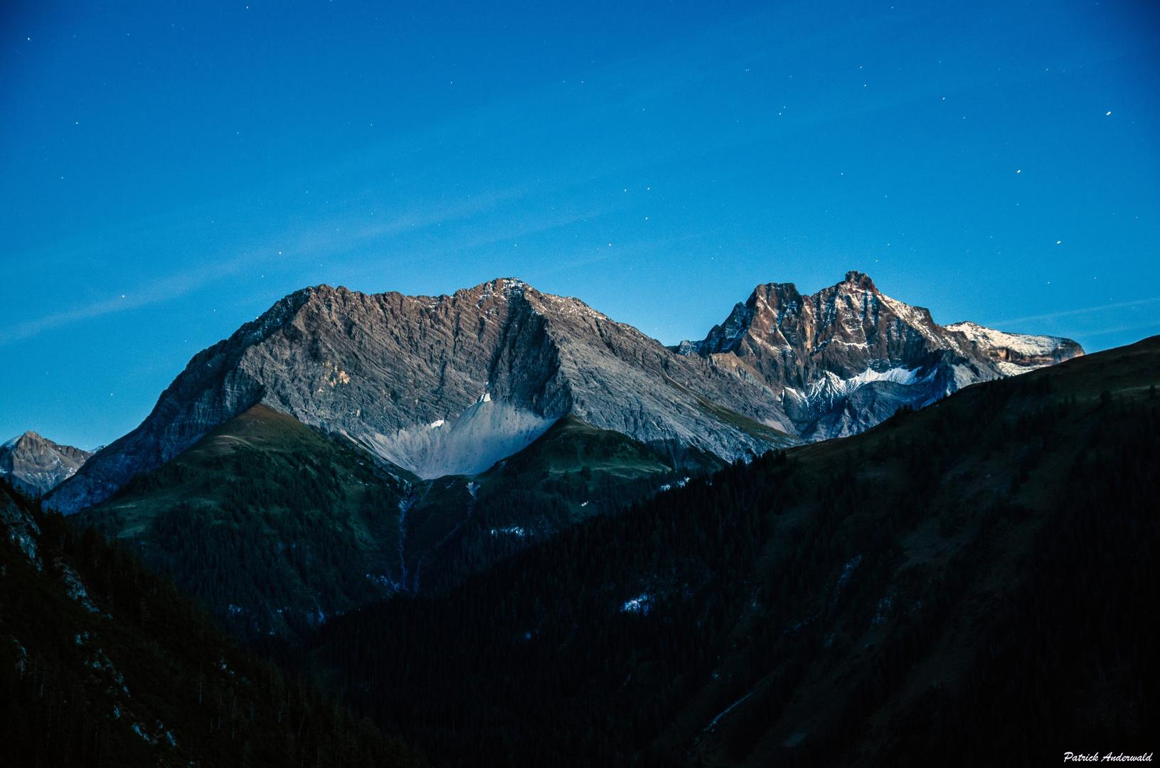 Saxerspitz und Freispitze