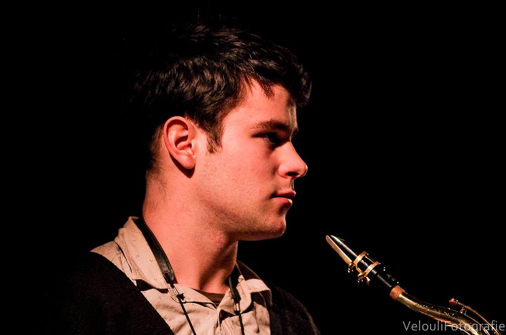Saxophon-Pause