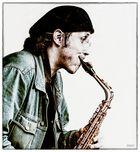 Saxophonist - Festival der Kulturen