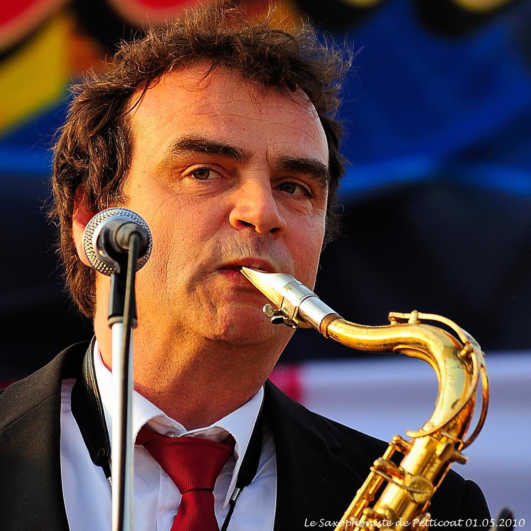 Saxophoniste des Petticoat (01.05.2010)