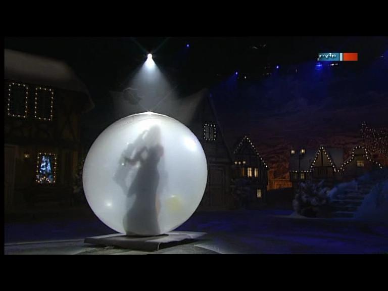Saxophonistin Kathrin Eipert im Moonballon