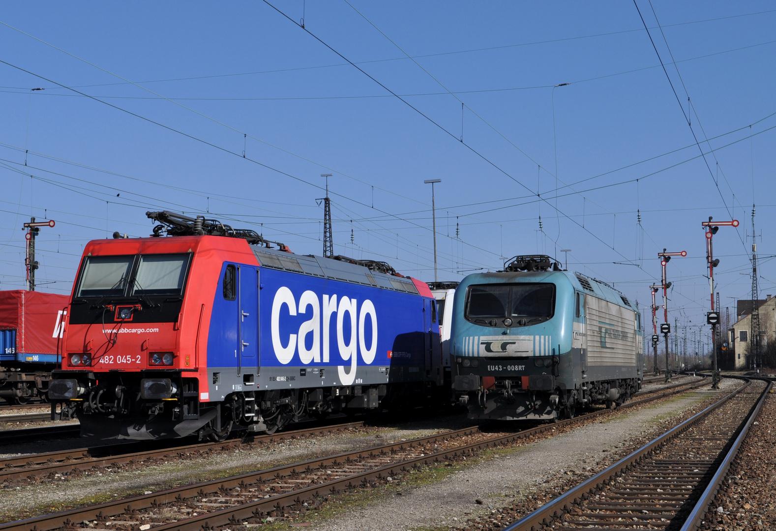 SBB Cargo & RTC