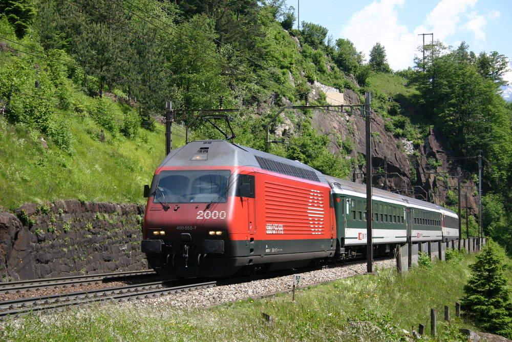 SBB Re 460 am Gotthard