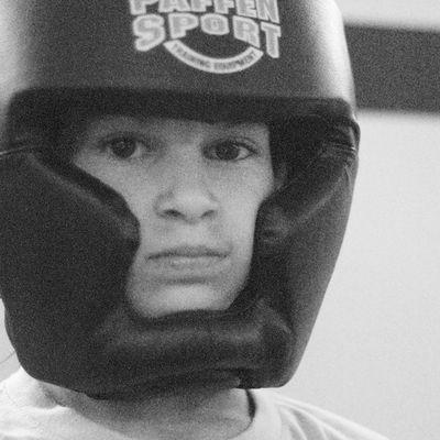 S.C., 8 Jahre, Kickboxerin