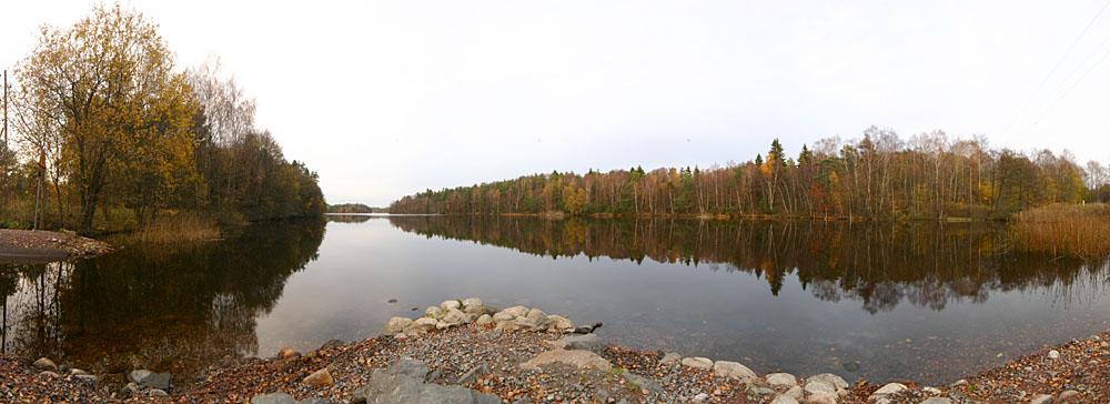 Scandinavian Lake Panorama