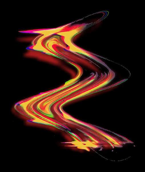 Scanno-Taschenlampografie 6