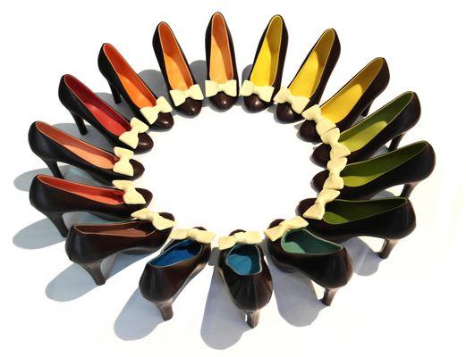 scarpe arcobaleno Cacao-lab milano