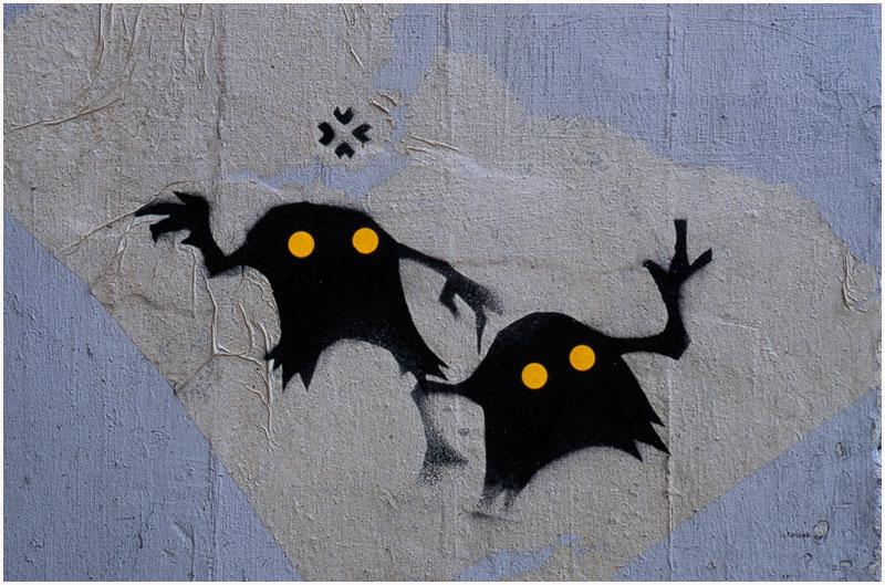 Scary Graffiti #5