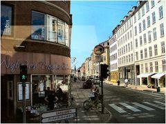 Scattando Copegnagen dal bus.