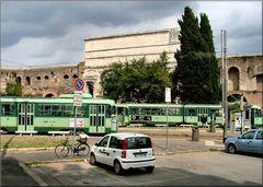 Scattando Roma dal bus.