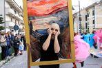 Scene da un Carnevale: l'urlo di Edvard Munch
