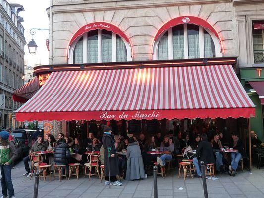 Scène de la vie parisienne
