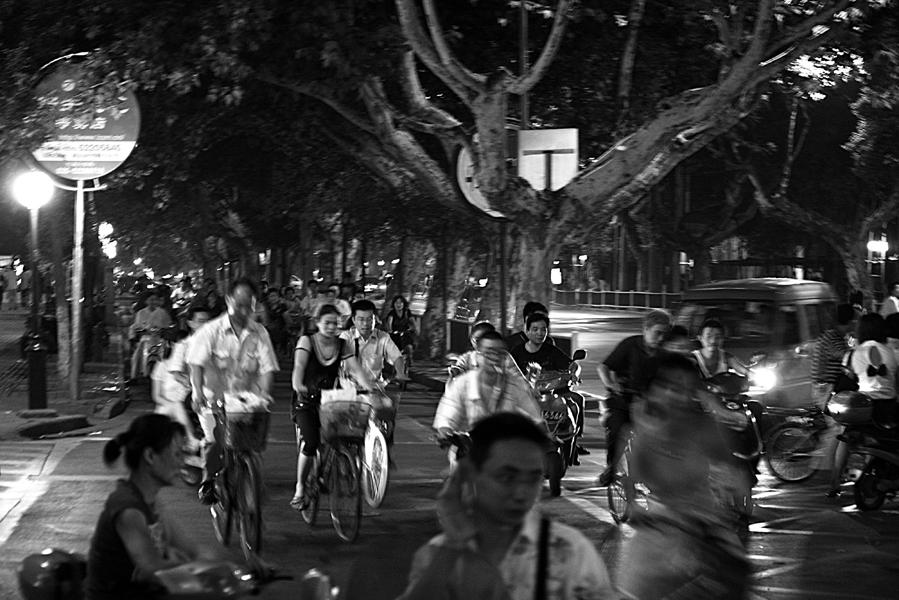 Scène de rue à Nankin 2