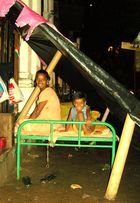 Scène de vie, scène de rue, Mumbaï/ Bombay