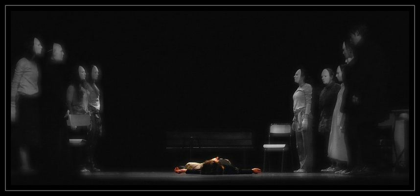 Scène finale : la mort de Mr Ill