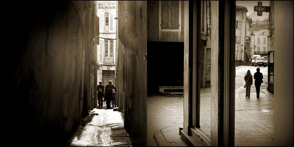 scènes de rue..