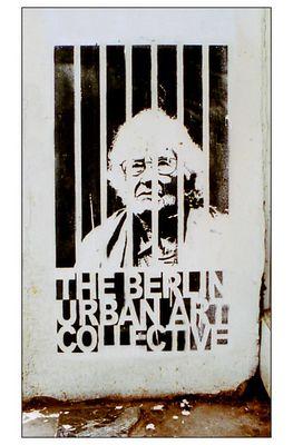 Schablonen-Graffiti * 07 * Berlin Friedrichshain