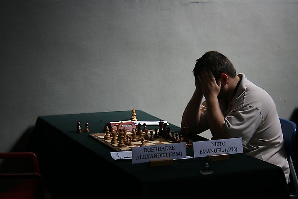 Schach: einsam