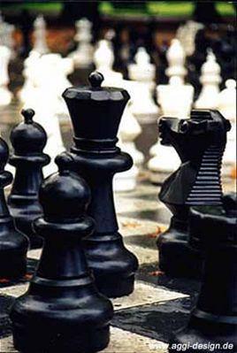 Schach im Genfer Park