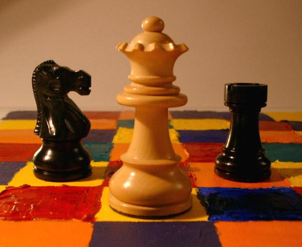 Schach ist kein farbloses Spiel!
