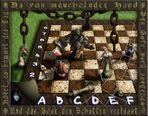SCHACH-MATT, das Ende des Spiels. -step 7
