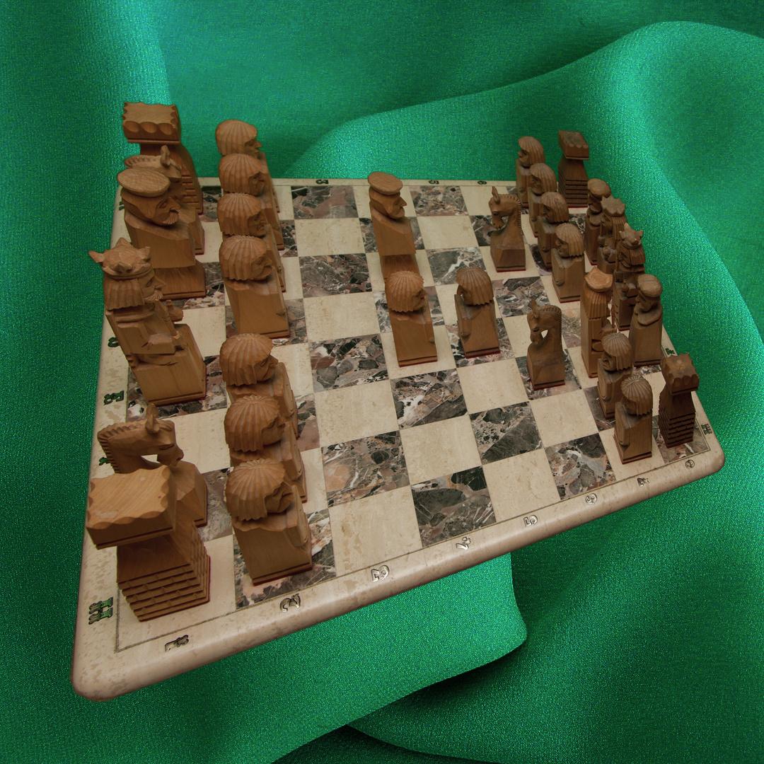 Schach-Matt nach einem gefallenen Bauern