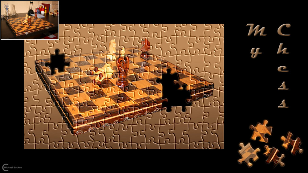 Schach Montage