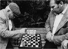 Schachspieler in Sibirien