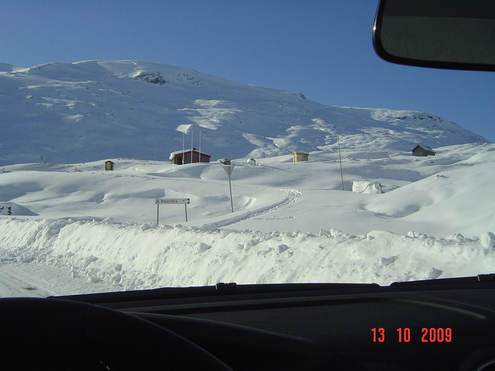 Schade! Dalsnibba heute nur für Skifahrer.