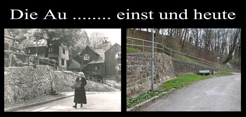 """Schade, daß es sie nicht mehr gibt, die """"alte"""" Münchner Au"""