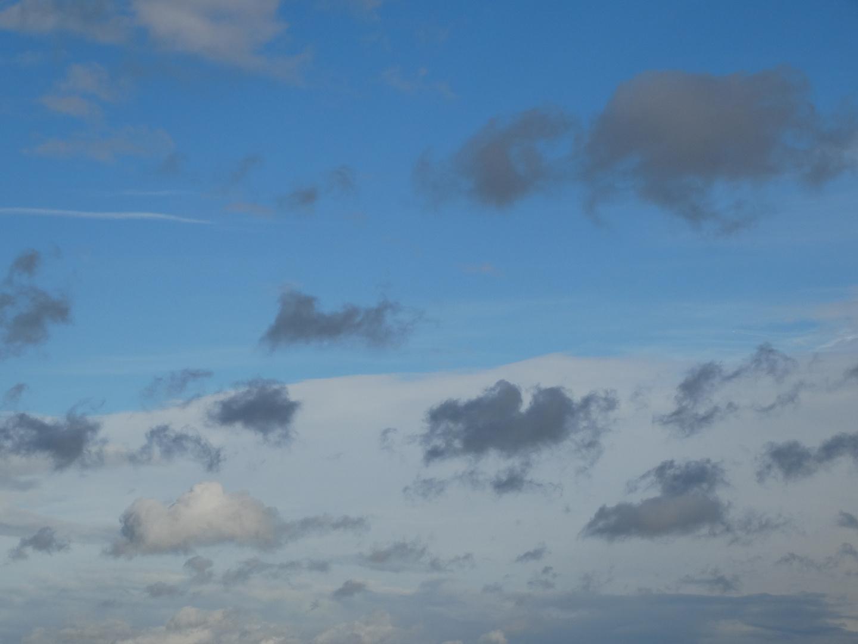 Schäfchen - Wolken