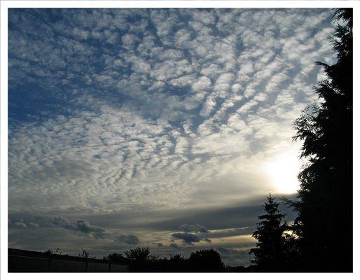 Schäfchen-Wolken