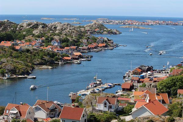 Schären in Schweden, Blick auf Rönnäng