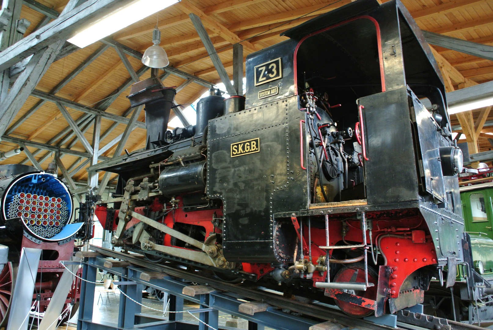 Schafbergbahn Z 3 (Lokwelt Freilassung)