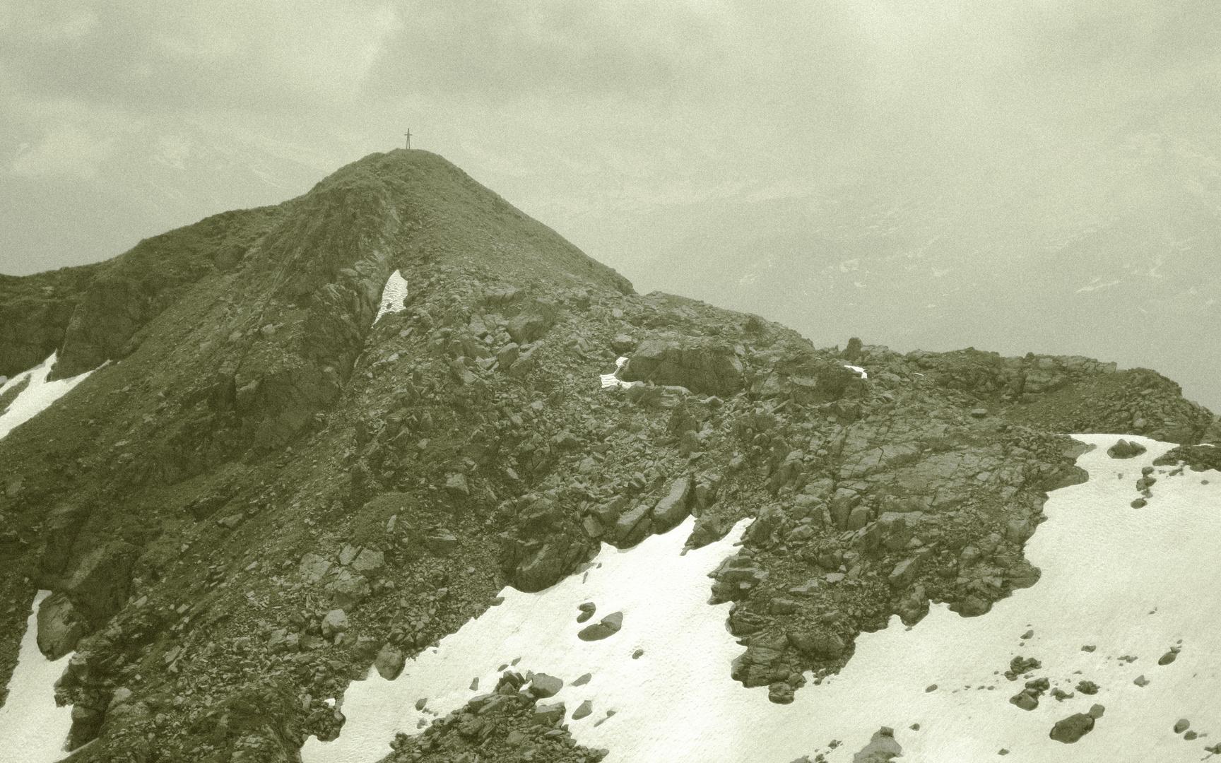 Schafsiedel in den Kitzbüheler Alpen, Tirol