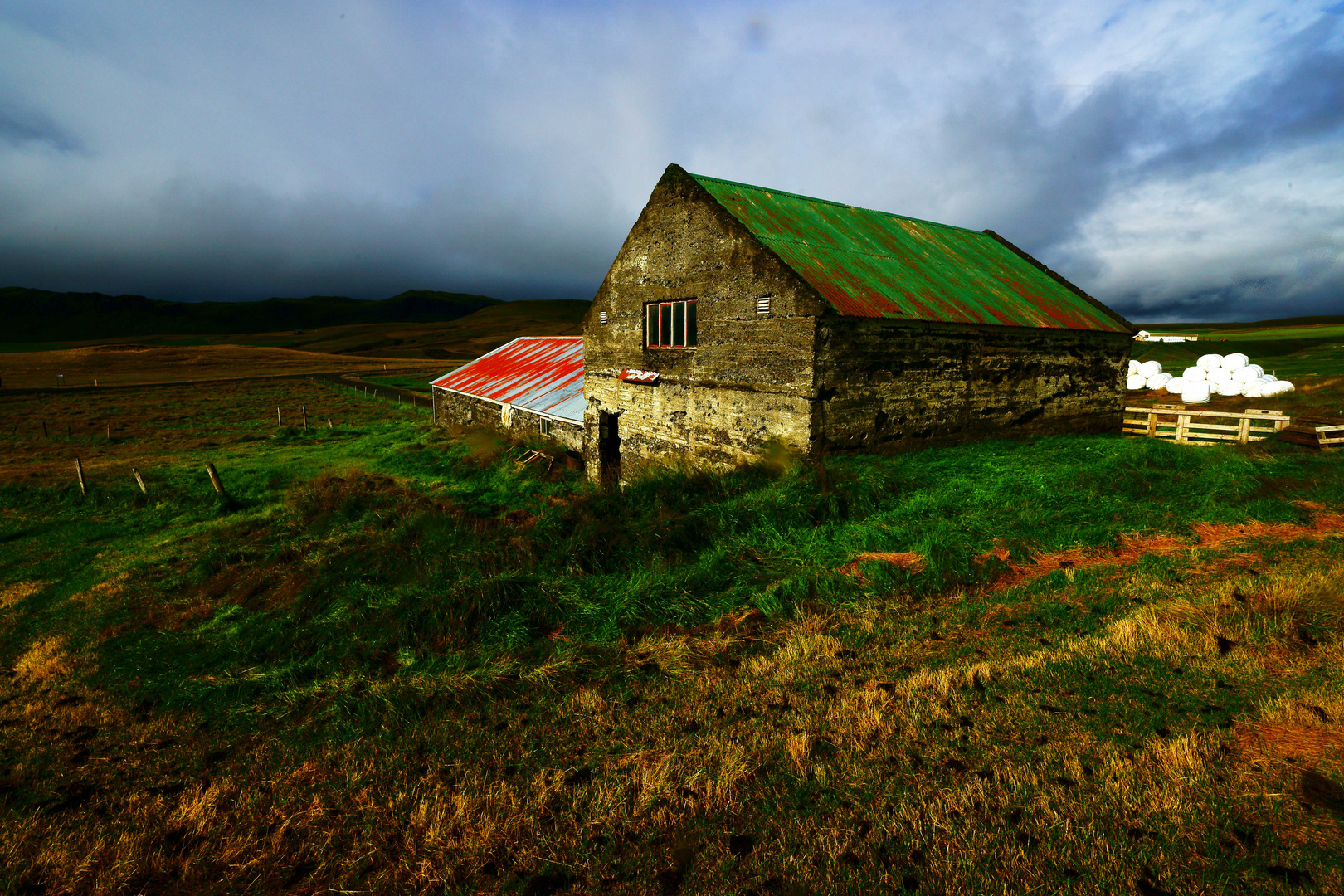 Schafstall Iceland