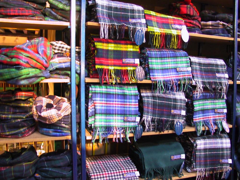 Schal aus Schottland
