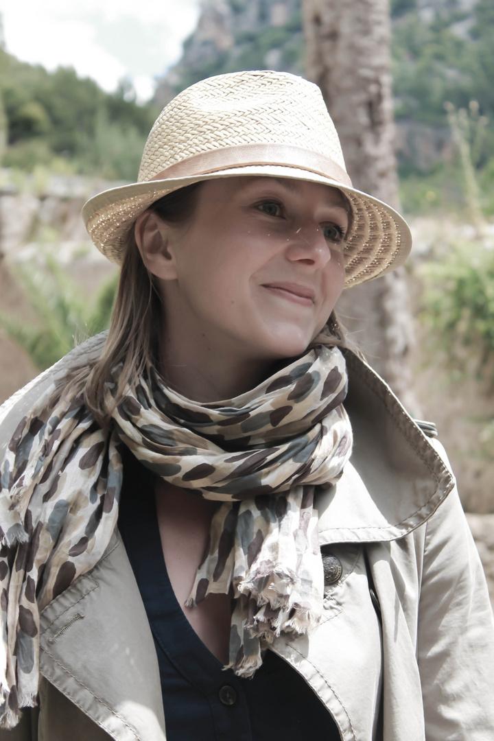 Schal und Hut