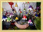 Schale Blumen >< Blumenschale