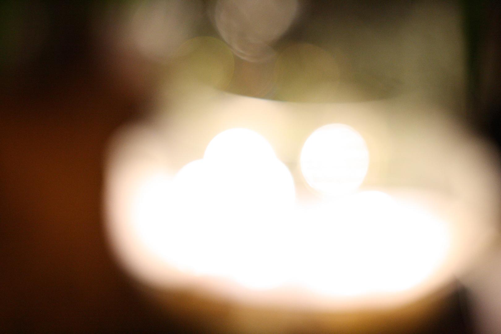 Schale voller Licht