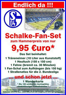 Schalke 04 Fan-Set