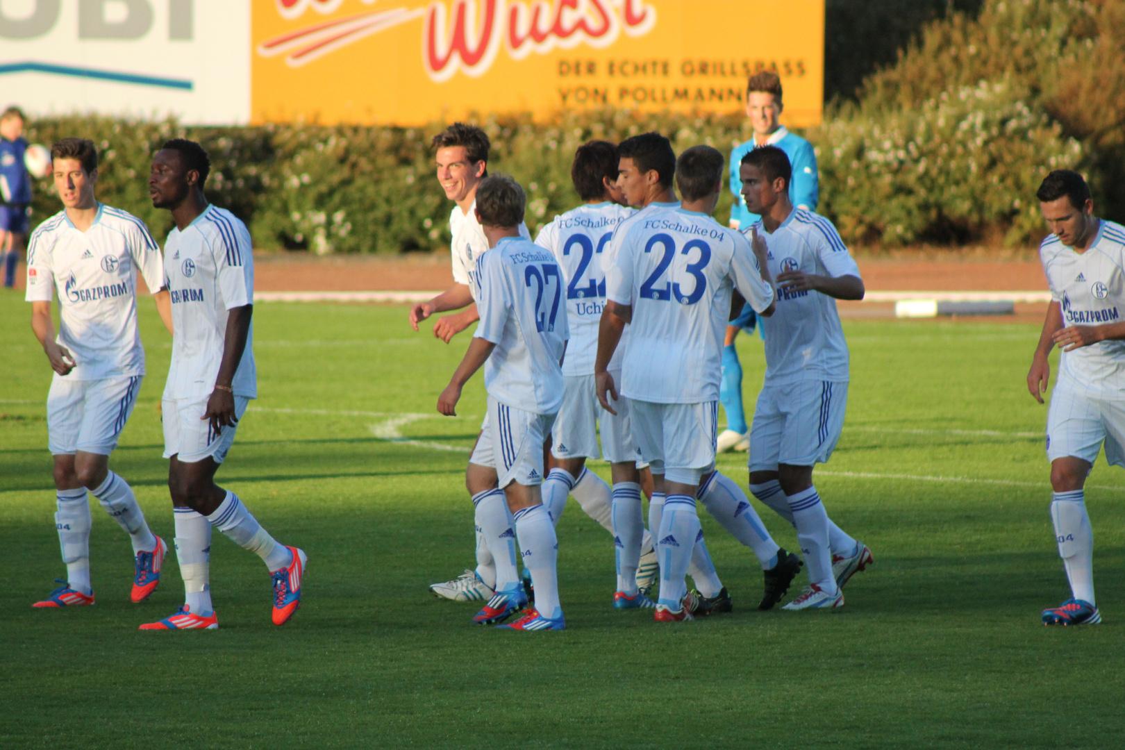 Schalke-Truppe