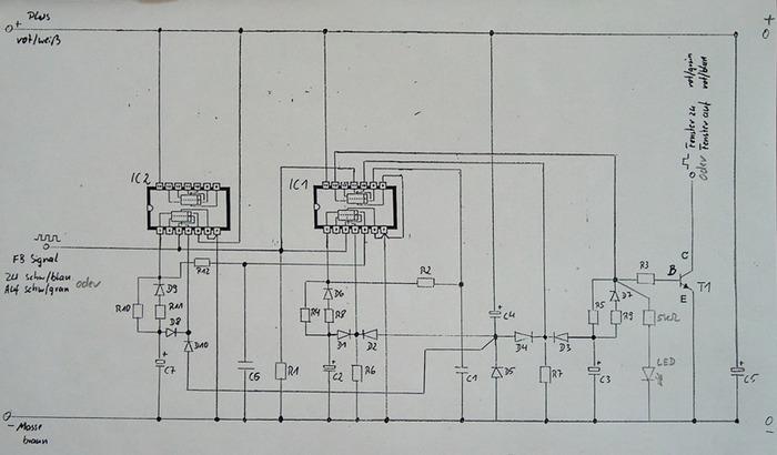 Schaltplan Modul 2