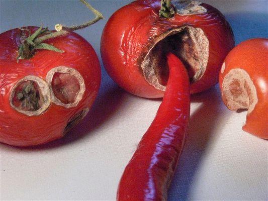 Scharfe Tomaten