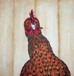 Scharfes Huhn!