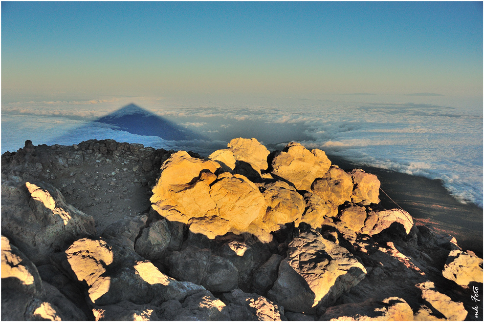 Schatten des Teide