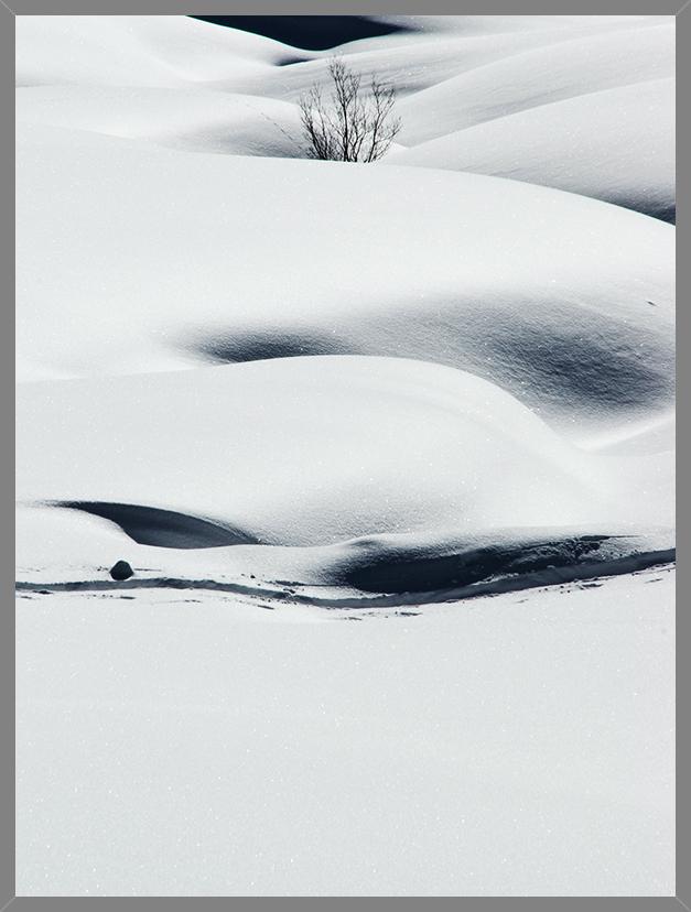Schatten im Schnee 2